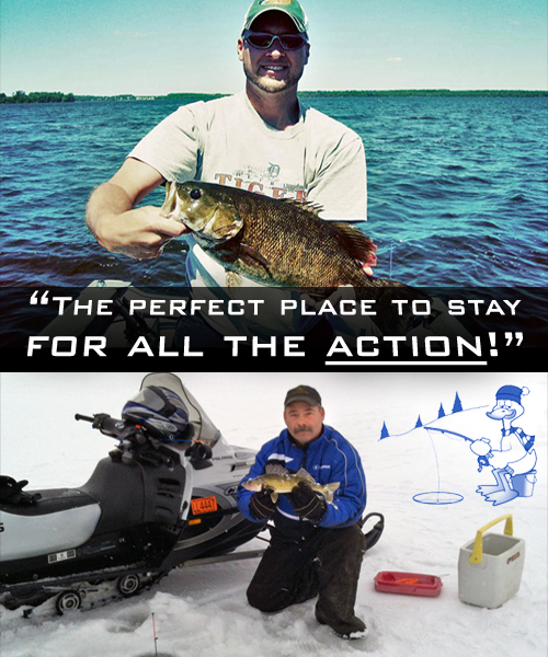 Big Manistique Lake Fishing | Fishing on Big Manistique Lake - Year-round fun for all ages!